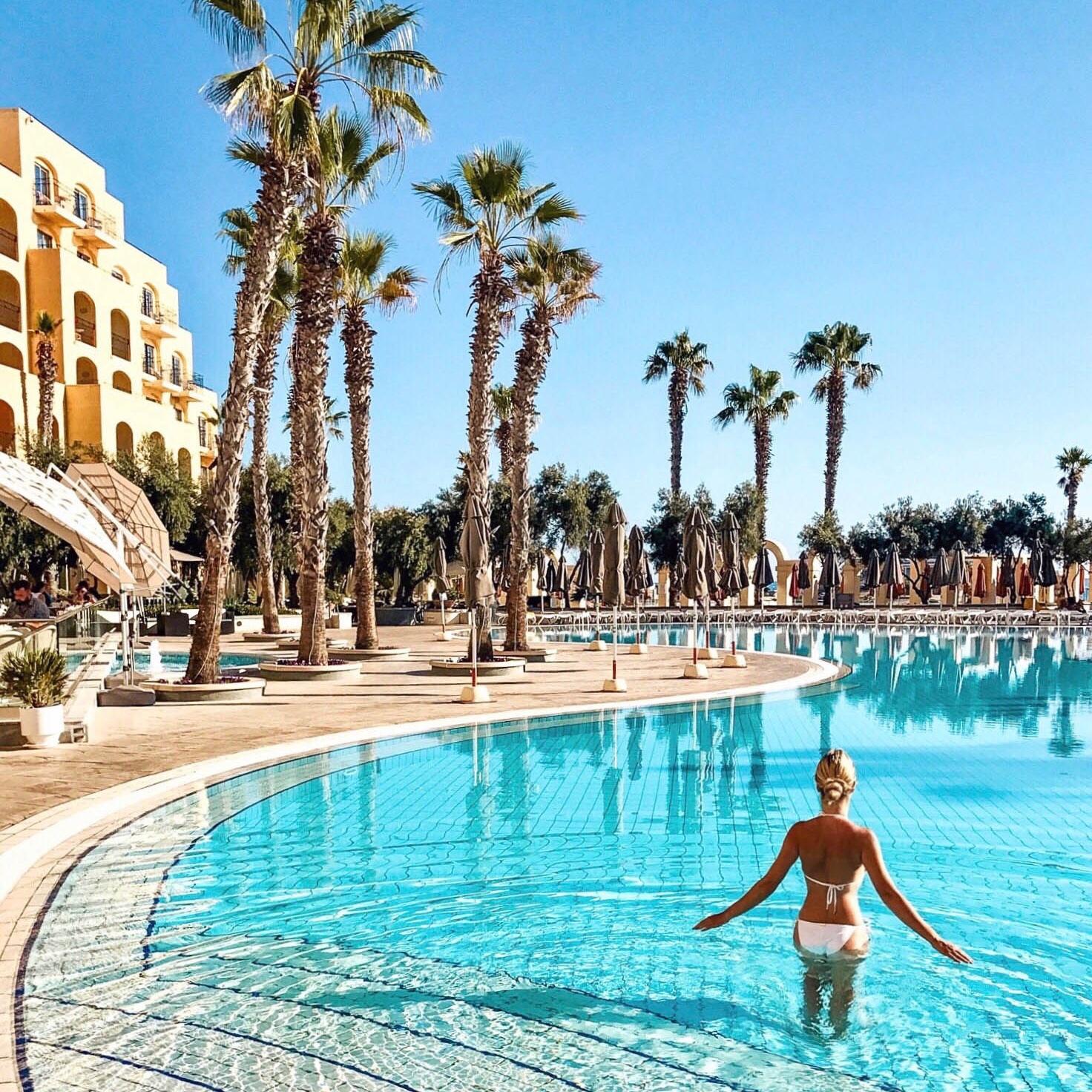 Pilotmadeleine Our Stay At Hilton Hotel Malta Pilotmadeleine