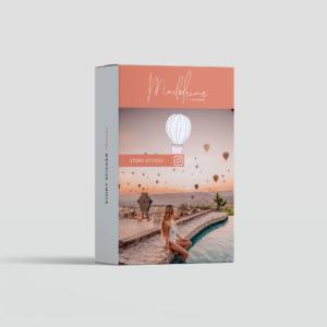 travel story sticker von pilotmadeleine für Instagram